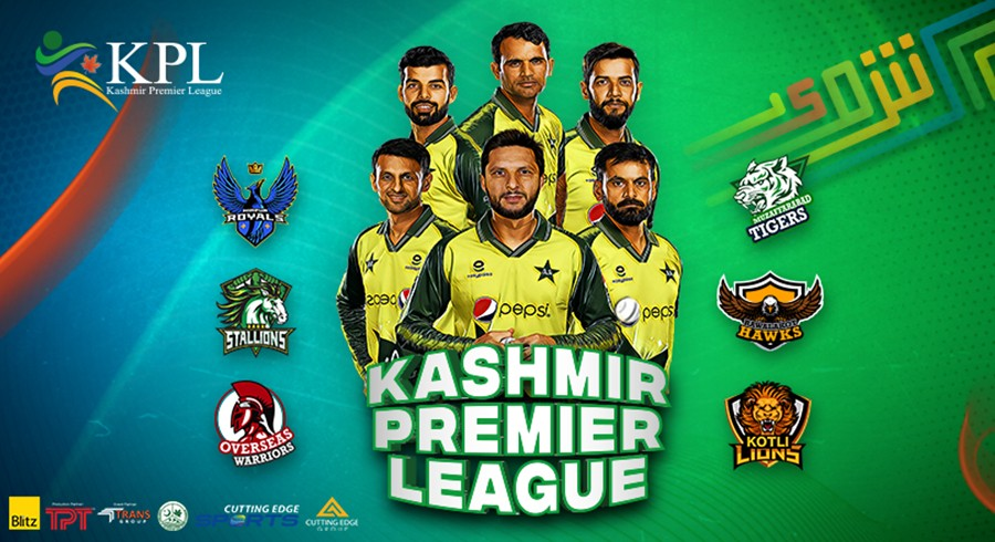 Kashmir Premier League kicks-off with a spectacular Draft Event
