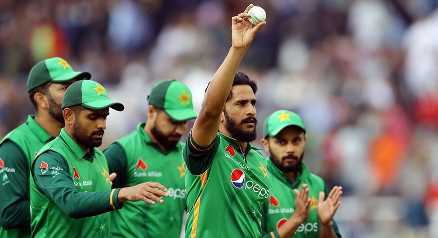 حسن علی انگلینڈ کے خلاف پہلے ٹی ٹوئنٹی میچ سے باہر