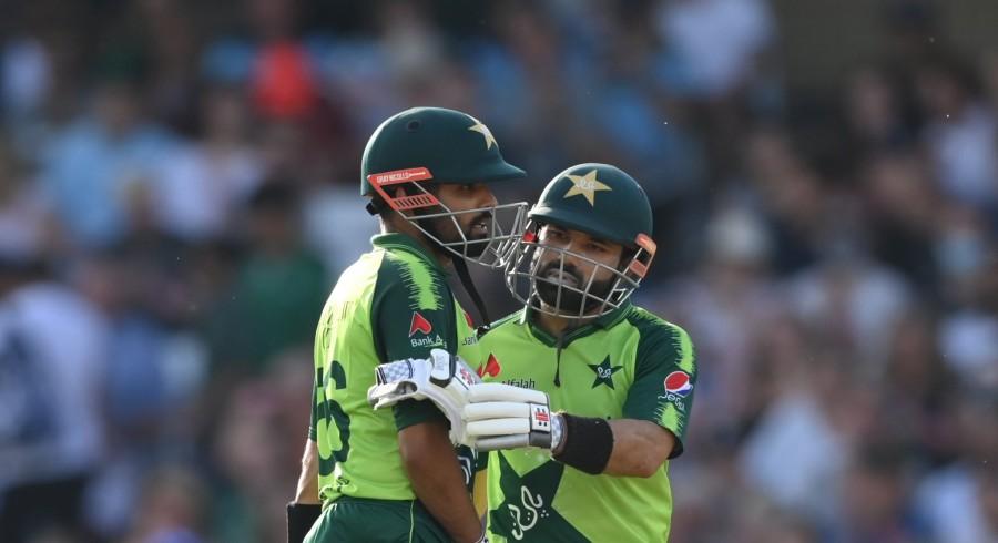 Babar, Rizwan help Pakistan down England in first T20I