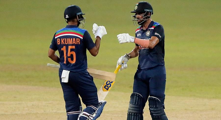 India edge Sri Lanka in nervy run chase to clinch ODI series