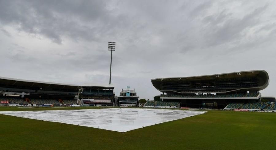 بارش کے باعث پاکستان اور ویسٹ انڈیز کے درمیان پہلا ٹی ٹوئنٹی ختم کردیا گیا
