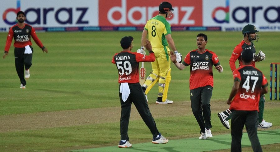Bangladesh register first-ever T20I win over Australia