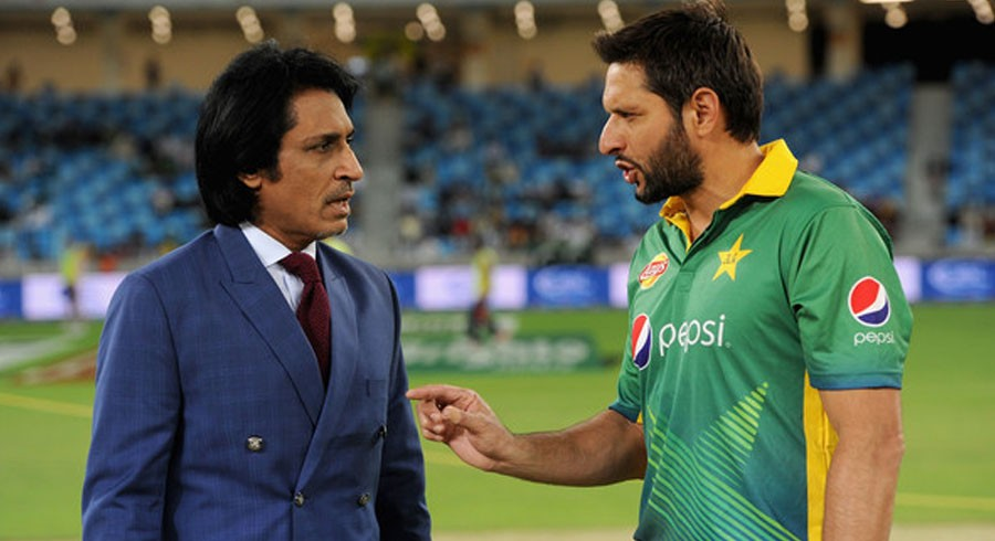 Shahid Afridi reacts to Ramiz Raja's appointment as PCB chairman
