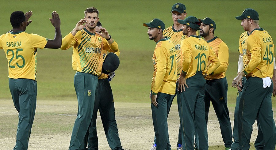 South Africa seal T20 series with nine-wicket win over Sri Lanka