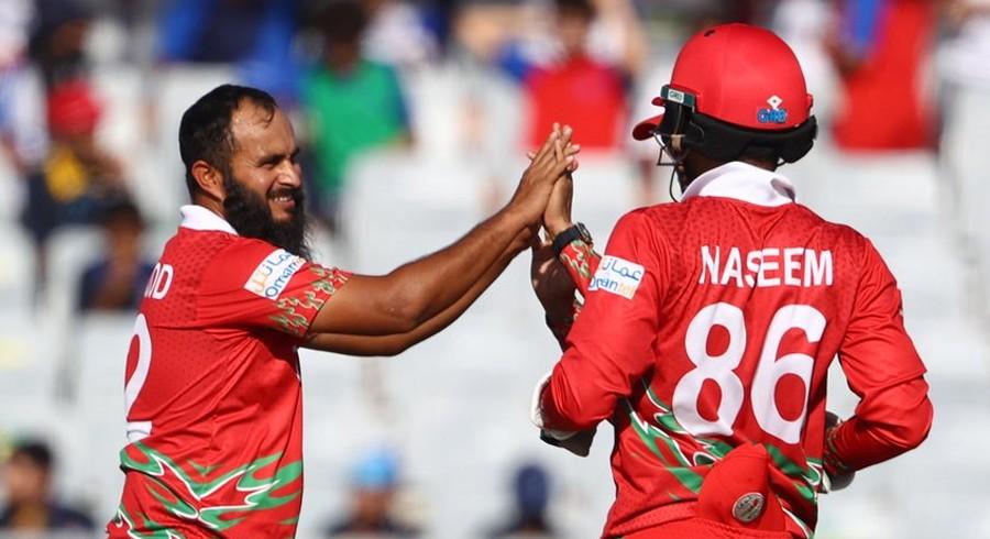 Pakistani expat Zeeshan Maqsood stars as Oman down Papua New Guinea