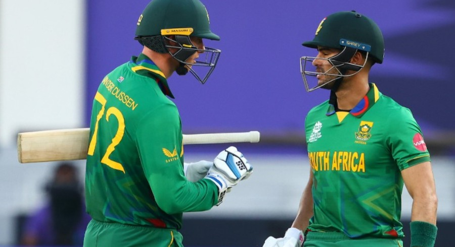 Solid batting display helps South Africa to an 8-wicket victory against WI