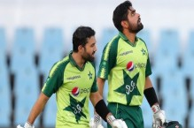 Babar, Rizwan react after record-breaking opening stand in third T20I