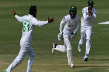 Nauman bags fifer as Pakistan close in on Test series win against Zimbabwe