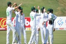 Pakistan win second Zimbabwe Test, clinch series