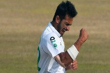 'Player of the series' Hasan Ali reacts after Zimbabwe Test victory