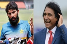 Misbah contradicts Raja on Pakistan playing against lowly Zimbabwe