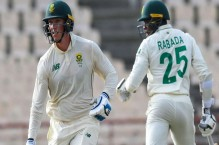 West Indies 15-0 chasing 324 to win second Test