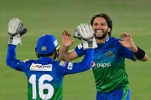 Shahid Afridi has been helpful despite not being with Multan squad: Rizwan