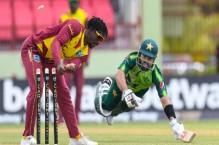 Rizwan breaks T20 record as Pakistan set 158-run target against West Indies