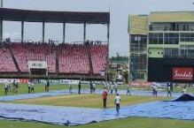 Pakistan win series against West Indies one-nil after washed-out fourth T20I