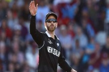 Kane Williamson reacts after New Zealand's Pakistan tour pullout