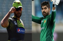 Sohaib Maqsood, Haris Sohail caught complaining about National T20 Cup pitches