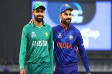 Babar Azam reacts after historic win against India in T20 World Cup